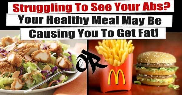 salad or big mac