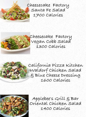 these salads are worse than many junk food options