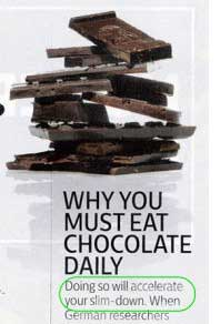 Why You Must Eat Chocolate Daily