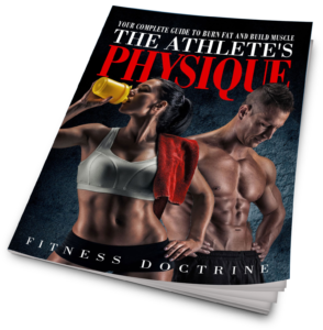 the athlete's physique