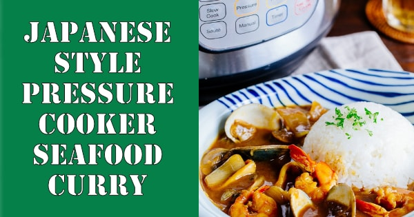 Japanese Style Pressure Cooker Seafood Curry