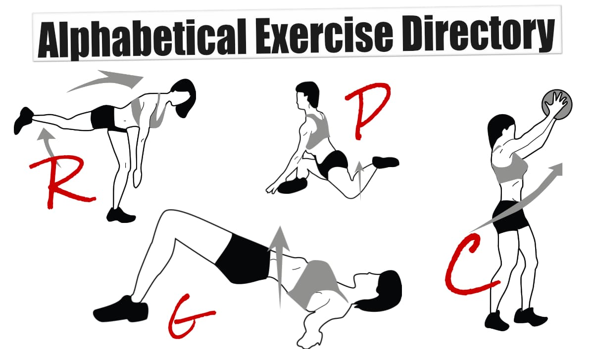 Alphabetical Exercise Directory